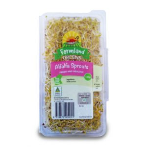 alfalfa sprouts farmland greens